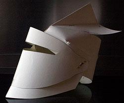 Сделать рыцарский шлем своими руками